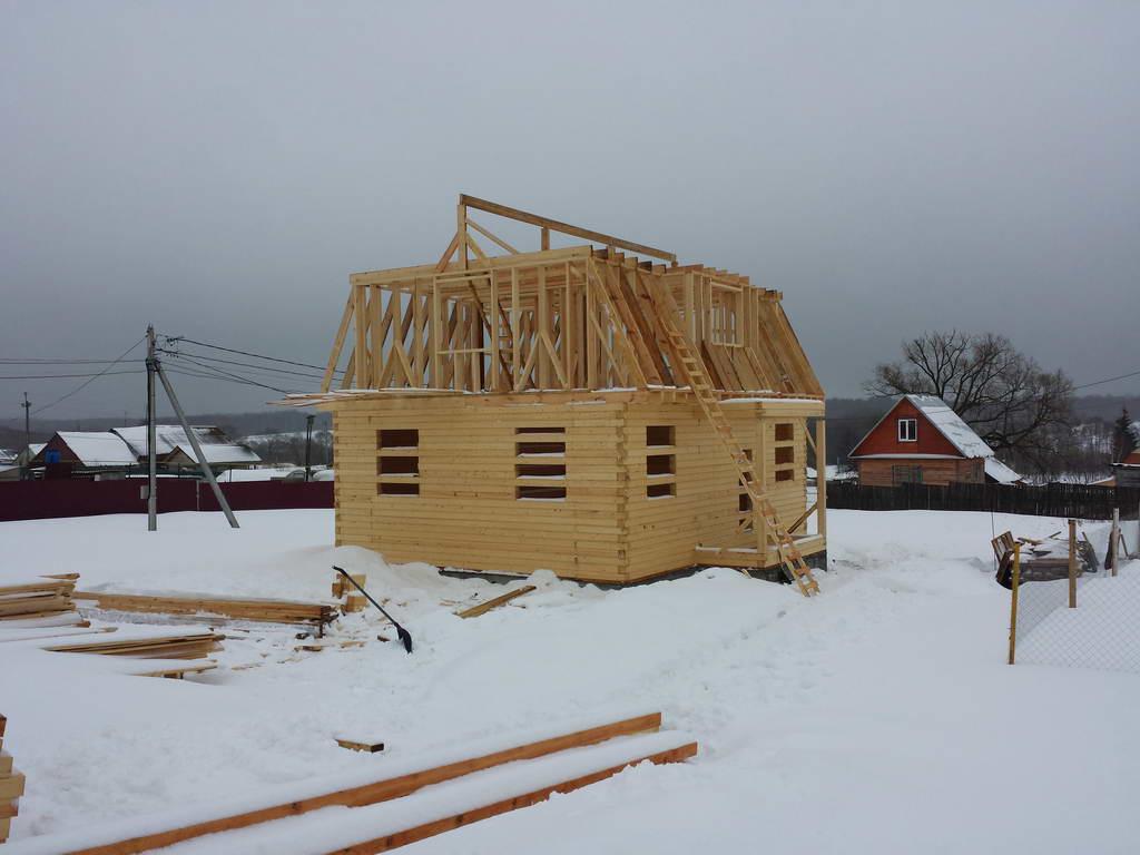 Строительство дома в Елкино