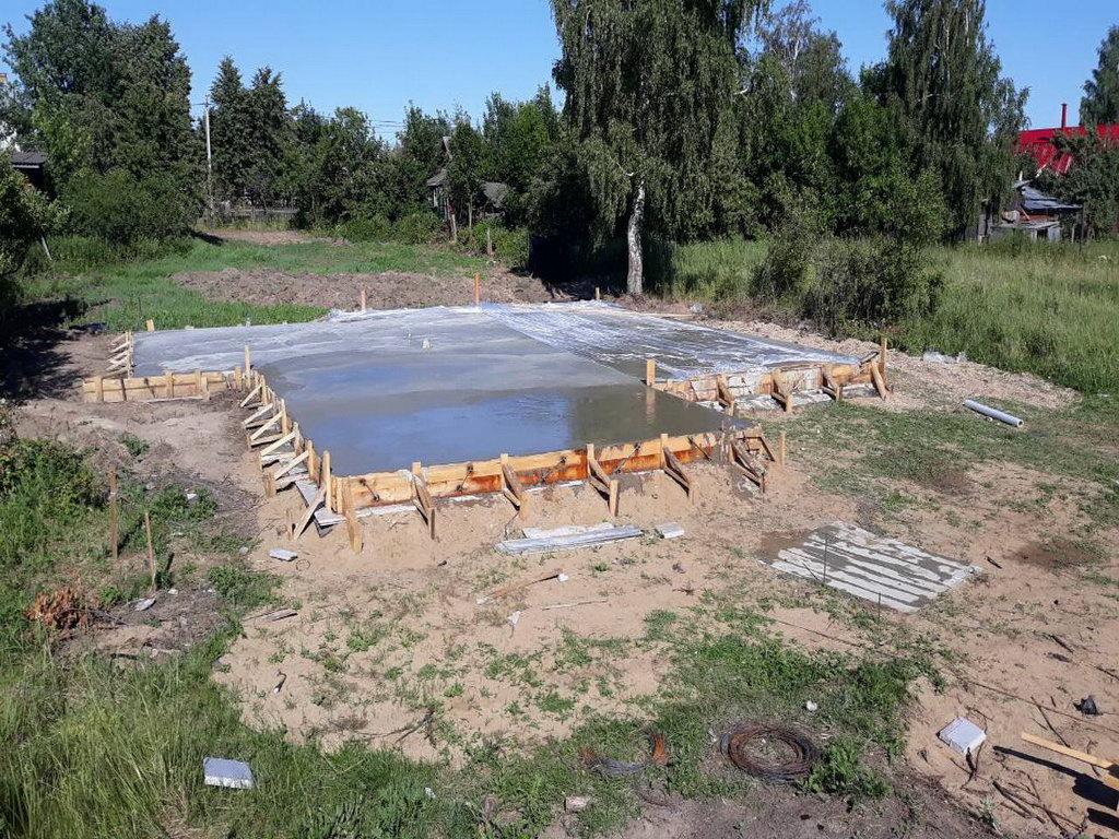 Фундамент Цибино