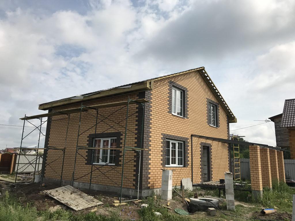 Фундамент Дом и Забор Вострянское поле