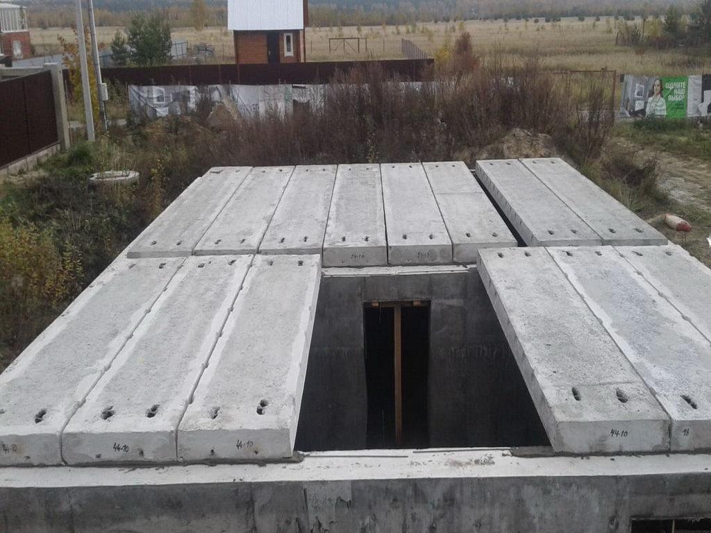 Фундамент с цокольным этажом Губино