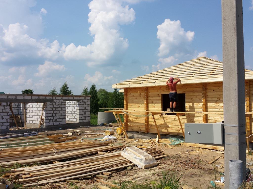 Фундаменты Дом и Гараж Новочеркаское