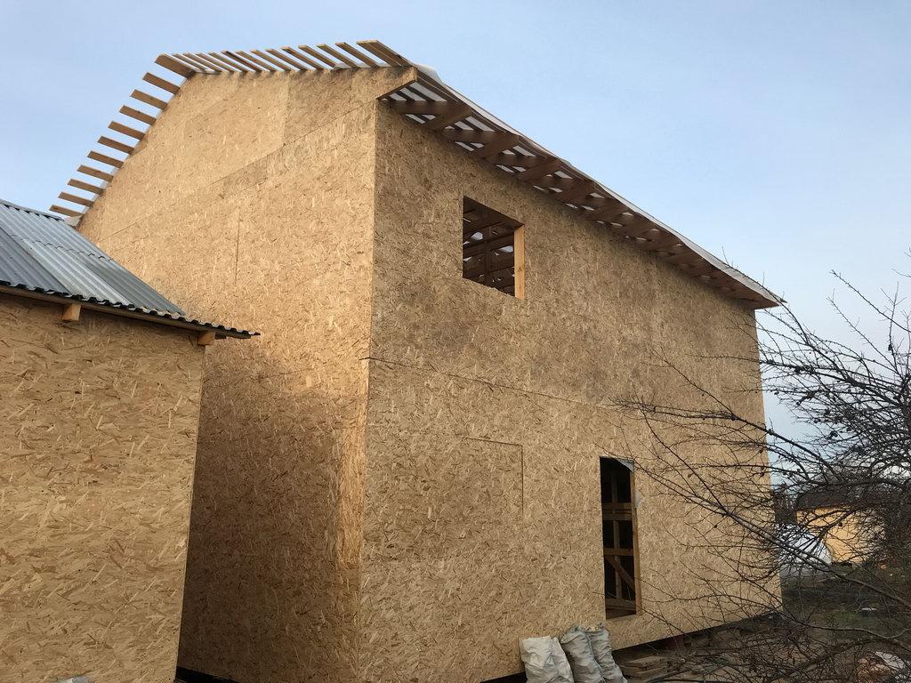 Каркасный дом Асташово