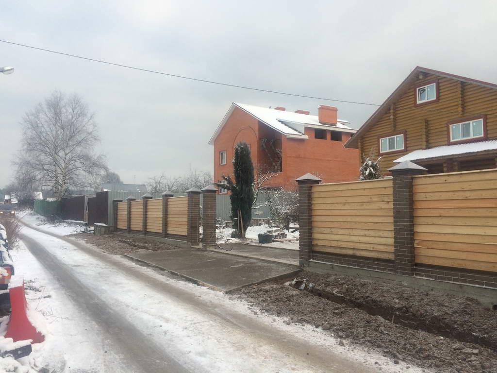 Забор в Краснознаменске