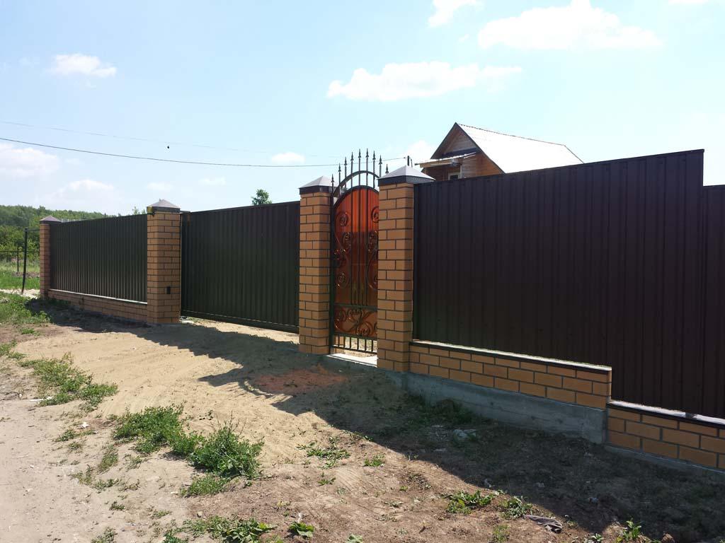 Забор Вострянское поле