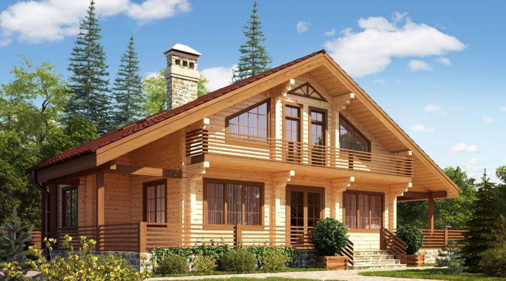 Дом из клееного бруса | ВосДомСтрой