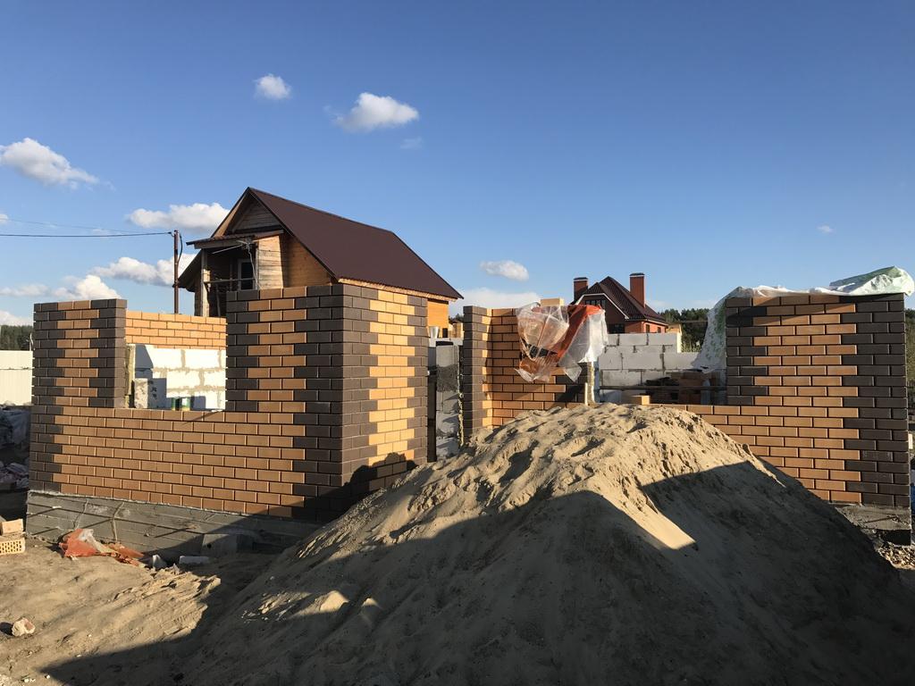 Фундамент и дом Вострянское поле