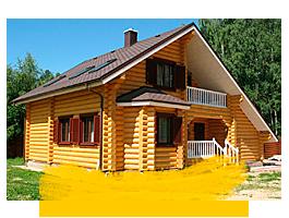 Заказать строительство дома из бревна в Воскресенском районе