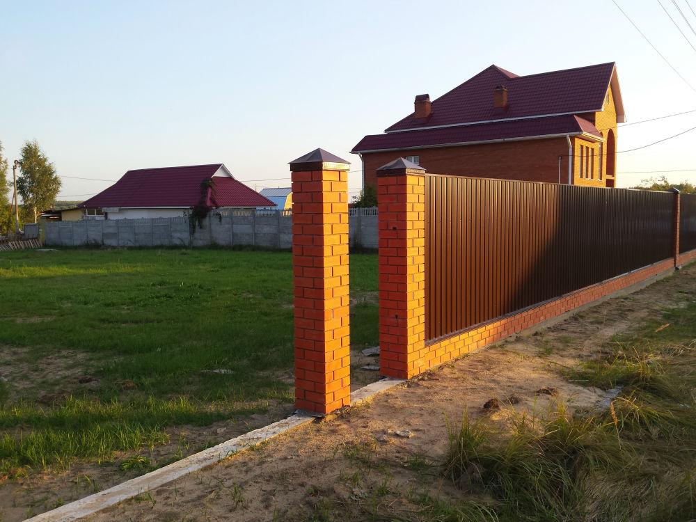 забор воскресенск