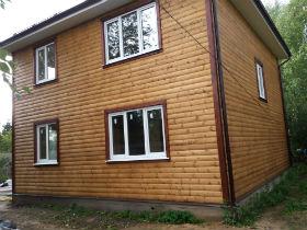 дом деревянный воскресенск