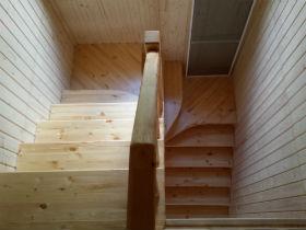 лестница из дерева воскресенск