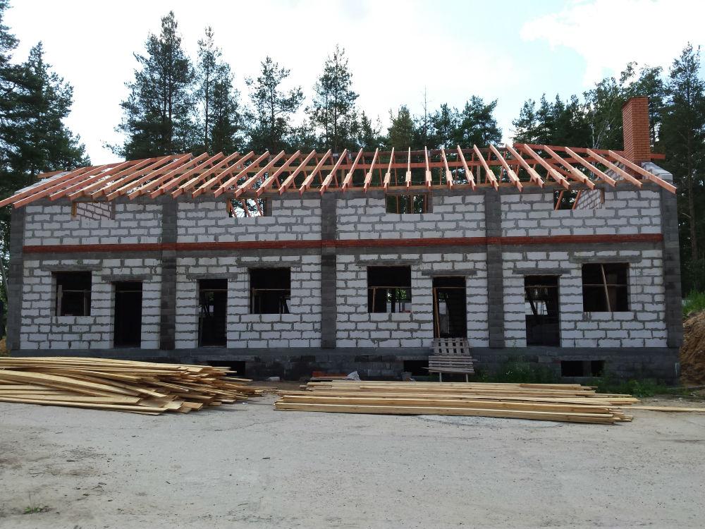 строительство домов в воскресенске